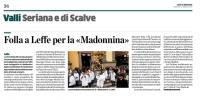 Vedi album 2015 Madonnina Leffe