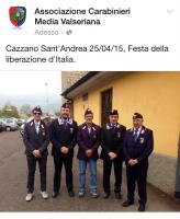 Vedi album 2015 25 Aprile Cazzano S. Andrea